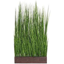 Kunstgras Gras Raumteiler, Creativ green, Höhe 125 cm