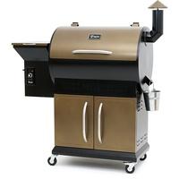 BBQ-Toro Pelletgrill Smoker Grill PG1 schwarz/gold