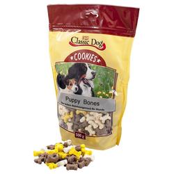 (3,98 EUR/kg) Classic Dog Cookies Puppy Bones 500 g