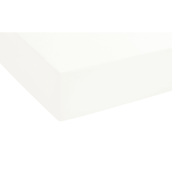 Biberna Boxspring-Spannbetttuch in weiß, 90 x 190 x 25 cm