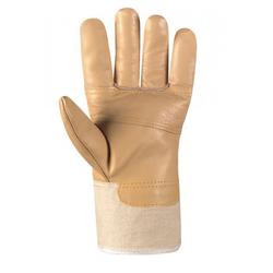 BIG Möbelleder-Handschuhe HELLES LEDER VE 120 Paar 1166