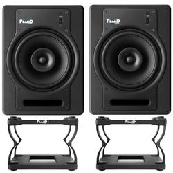 Fluid Audio Fluid Audio FX8 Monitor-Boxen + DS8 Stative Home Speaker