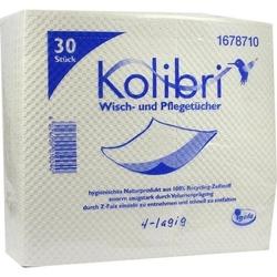 KOLIBRI Wisch- und Pflegetuch 36x40cm 30 St