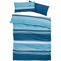 TOM TAILOR Jun blau 135 x 200 + 40 x 80 cm