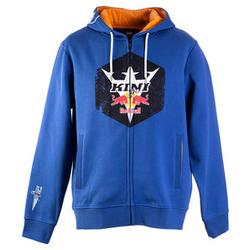 Kini Red Bull Hex Zip-Hoodie blau L