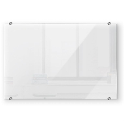 Wall-Art Herd-Abdeckplatte Spritzschutz Küche Transparent, Glas, (1 tlg) 80 cm x 60 cm x 0,4 cm