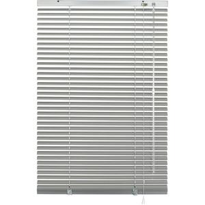 GARDINIA Alu-Jalousie, Sicht-, Licht- und Blendschutz, Wand- und Deckenmontage, Alle Montage-Teile inklusive, Aluminium-Jalousie, Silber, 40 x 175 cm (BxH)