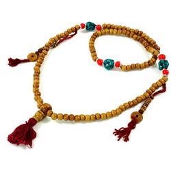Guru-Shop Perlenkette Tibetische Gebetskette, buddhistische Mala..