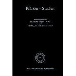 Pfänder-Studien - Buch