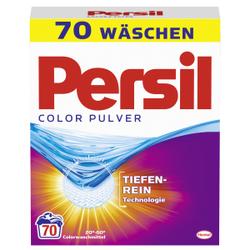 Persil Color Pulver Waschmittel, Colorwaschmittel für leuchtende Farben, 4,55 kg - Packung für ca. 70 Waschladungen
