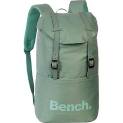 Bench. Wanderrucksack ORI302X Bench, Rucksack grün, schwarz Cityrucksack, Damen, Jugend Sportrucksack, Wanderrucksack Nylon, pastellgrün grün