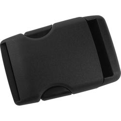 POLO Gürtelschnalle, Kunststoff schwarz Unisex