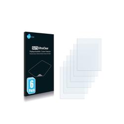 Savvies Schutzfolie für Navigon Transonic PNA 5000, (6 Stück), Folie Schutzfolie klar