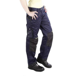 L+D Profi-X 2367 Bundhose Damen Blau Größe: 36
