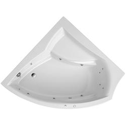 OTTOFOND Whirlpool-Badewanne Aura, (Komplett-Set, 1-tlg), mit Whirlpoolsystem Typ 2 luxus, chrom