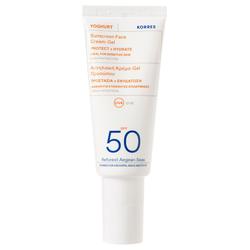 Korres Yoghurt Sonnencreme-Gel für das Gesicht SPF50 40 ml