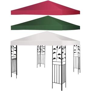 GOPLUS Ersatzdach für Pavillon, Pavilliondach Pavillonplane 3x3M Farbewahl (Beige)