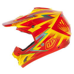 Troy Lee Designs SE3 Cyclops Downhill Helm, gelb, Größe XL