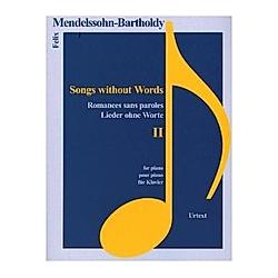 Lieder ohne Worte  für Klavier. Felix Mendelssohn Bartholdy  - Buch