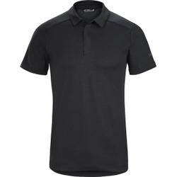 Arc'teryx - Eris Polo Men's Black - Poloshirts - Größe: XL