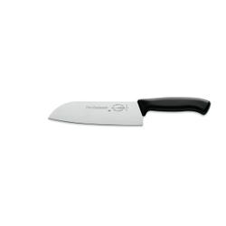Dick Red Spirit Santoku Küchenmesser, Kochmesser für Gemüse und Fleisch, Klingenlänge: 18 cm