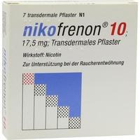 Riemser Pharma Nikofrenon 10 transdermale Pflaster 7 St.