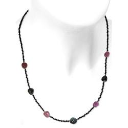Adelia´s Kette ohne Anhänger Turmalin Halskette 925 Silber