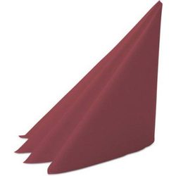Duni Zelltuch-Servietten 50 Stück Maß: 33 x 33 cm 3-lagige Servietten mit 1/4