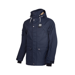 REHALL Winterjacke Goose-R Snowjacket blau L