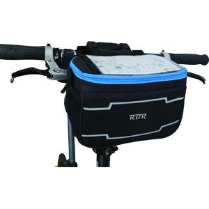 RBR BGF200 Fahrradtasche vorne, Schwarz, 5L
