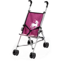 Bayer Puppenwagen Puppen-Buggy, lila lila
