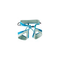 Edelrid Klettergurt Loopo II Jade-Petrol Gurtgröße - M, Gurtart - Klettersteiggurt, Gurtfarbe - Blau - Grau,