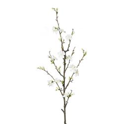 Kunstpflanze Quittenzweig, Farbe weiß, Höhe ca. 86 cm