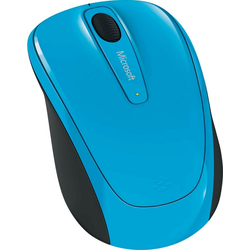 Microsoft Wireless Mobile Mouse 3500 Cyan Blue Maus (RF Wireless)