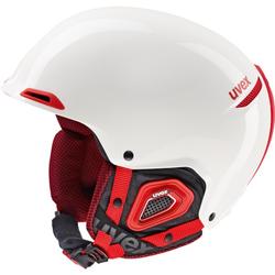 Uvex Unisex Skihelm JAKK+ Weiß-Rot