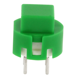 Eingabetaster 0,1A 32 V DC, eckig, grün