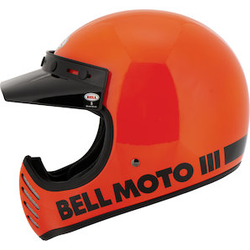 Bell Moto-3 flo orange orange S