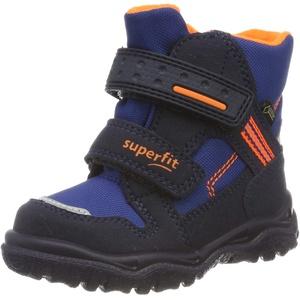 Superfit Jungen HUSKY1 Schneestiefel, Blau (Blau/Orange 82), 20 EU