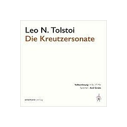 Die Kreutzersonate  1 MP3-CD - Hörbuch
