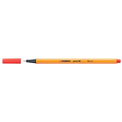 STABILO point 88 Fineliner rot 0,4 mm