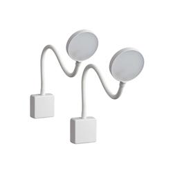 SEBSON LED Steckdosenleuchte LED Steckdosenlampe dimmbar weiß - 2er Set - Leuchte für die Steckdose 4W, Steckerleuchte flexibel neutralweiß 4000K, Leselampe, Nachtlicht