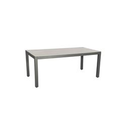 KARE Beistelltisch Tisch Sorrento 180x90cm grau