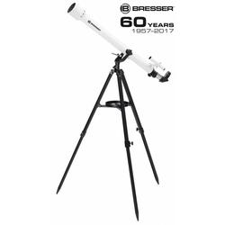 BRESSER Classic 60/900 AZ Linsenteleskop mit azimutaler Montierung