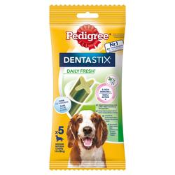 Pedigree Denta Stix Daily Fresh mittelgroße Hunde 14 x 5 Stück