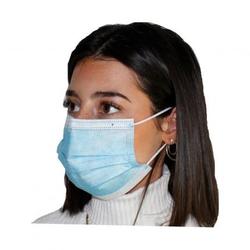 Einweg-Mundschutz mit Nasenbügel 10 Stück