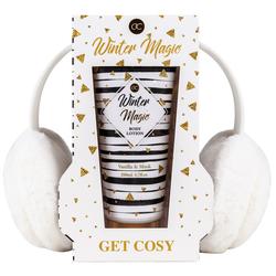 Duschset WINTER MAGIC Duschgel und Ohrenwärmer - GET COZY - Vanilla Musk