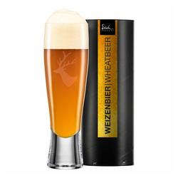 Eisch Bierglas Weizenbierglas Chalet 500 ml, Kristallglas beige