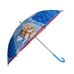 PAW PATROL Stockregenschirm Kinder Regenschirm, ∅ 72 cm, blau-transparent