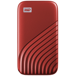 WD My Passport 500 GB SSD Red