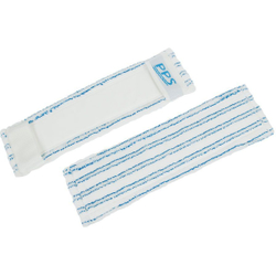 PPS Pfennig Reinraum Mopp MicroSicuro CR mit Taschen, Mit Hinterfütterung, für alle gängigen Reinraum- und Pharmaböden, Lochböden, Breite: 40 cm
